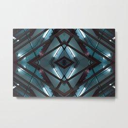 JWS 1111 - digital symmetry Metal Print