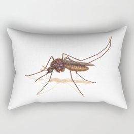 Mosquito by Lars Furtwaengler | Colored Pencil / Pastel Pencil | 2014 Rectangular Pillow
