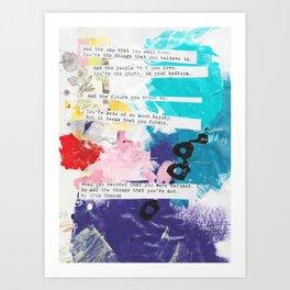 Made of beauty by Kasia Avery Art Print