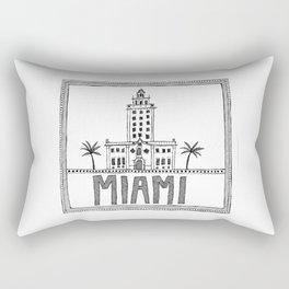 Miami - Freedom Tower Rectangular Pillow