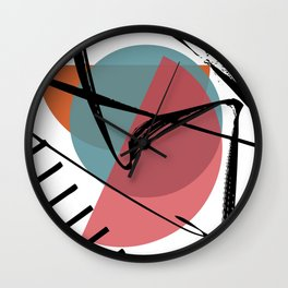 Torn Shackles Wall Clock