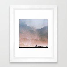 I wander Framed Art Print