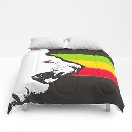 Rasta Lions (The Kingdom) Comforters