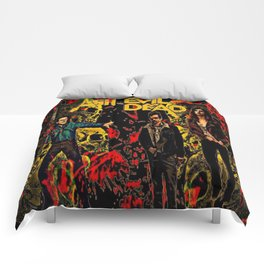 Ash Faces Many Evils Comforters