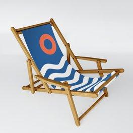 Nautical 03 Seascape Sling Chair