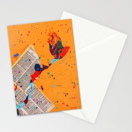 Letter Trail by Nadia J Art Stationery Cards