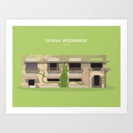 Istana Woodneuk, Singapore [Building Singapore] Art Print