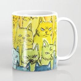 the pride cat rainbow  squad Coffee Mug
