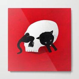 CURIOSITY KILLED THE CAT Metal Print
