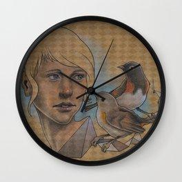 American Redstart Wall Clock