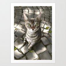 A Cat That I Once Knew Art Print