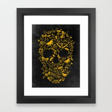 Skull Butterfly 2 Framed Art Print