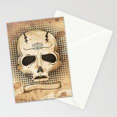 Ancient Skull Stationery Cards