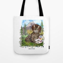 Bobcat Ross Tote Bag