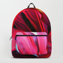 Red Ti Leaf Backpack