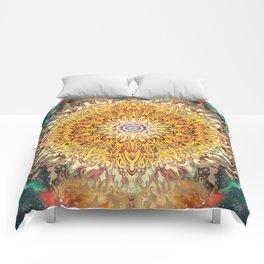 Cygnus Cosmic Mandala Comforters