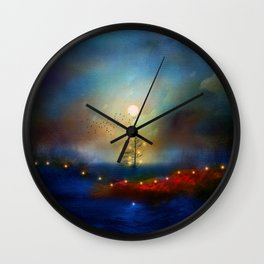 A beautiful Christmas Wall Clock