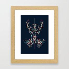 Space Viking Framed Art Print