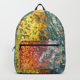 Colorful Abstract Texture Backpack