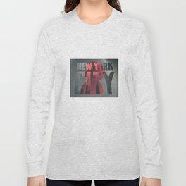 NEW YORK AFRO CITY Long Sleeve T-shirt