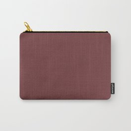 Simple , chocolate Carry-All Pouch