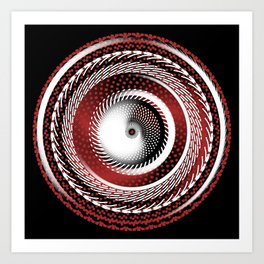 Spinning Out of Control Art Print