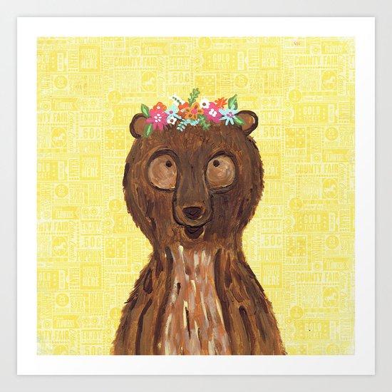 Beary Sweet Art Print