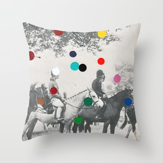 EQUESTRIAN Throw Pillow