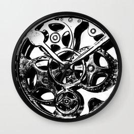 Geared Wall Clock