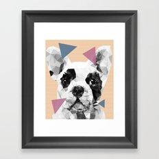Frenchie Framed Art Print