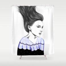 WIND TUNNEL Shower Curtain