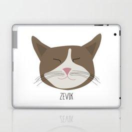 Family Cat Portraits, Zevik Laptop & iPad Skin