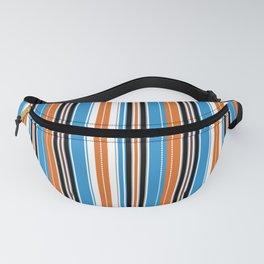Retro Cadet Stripes Fanny Pack
