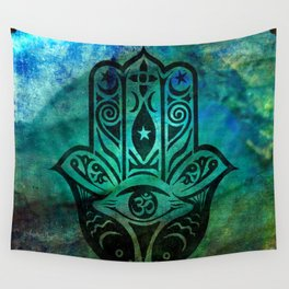 Ancient Guardian Wall Tapestry