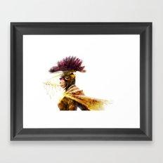 GOLDENLORD Framed Art Print