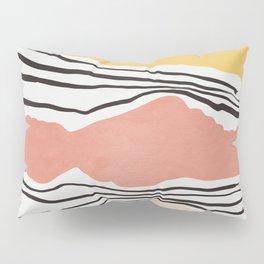 Modern irregular Stripes 01 Pillow Sham