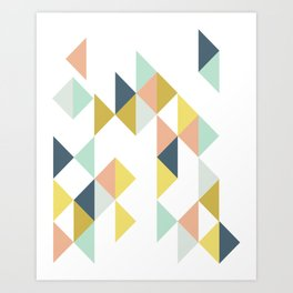 Modern Geometric Design Art Print
