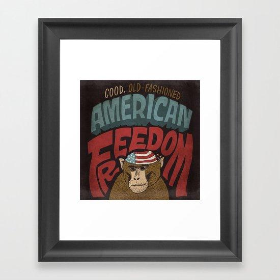 American Freedom Framed Art Print