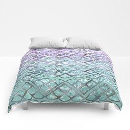 MERMAID Glitter Scales Dream #2 #shiny #decor #art #society6 Comforters