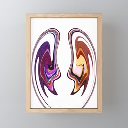 Con Man Framed Mini Art Print