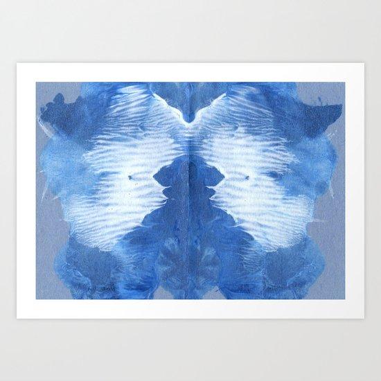 Got the Blues. Art Print