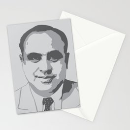 """Al """"Scarface"""" Capone Graphic Stationery Cards"""
