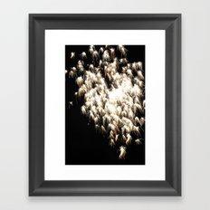 hearth in the sky Framed Art Print