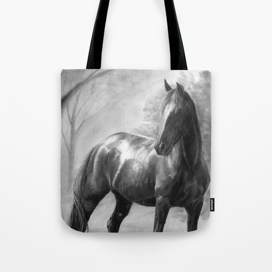 Horse V Tote Bag