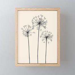 Dandelions Framed Mini Art Print