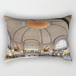Union Station in Winnipeg Rectangular Pillow