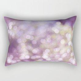 Diamonds are a girls best friends' Rectangular Pillow