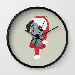 Great Dane Christmas Wall Clock
