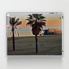 Barcelona Beach Laptop & iPad Skin