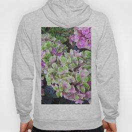 Pink & Green Hydrangea Hoody
